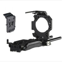 SONY FS7 4K Rig BS-T10 ES-T15 baseplate+ Power Supply System