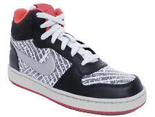 Nike Court Borough Mid PRNT (gs) Scarpe sportive Donna nere Nero 38 5