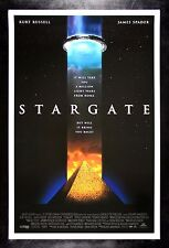 STARGATE * CineMasterpieces ORIGINAL MOVIE POSTER SPACE ALIEN STAR GATE 1994