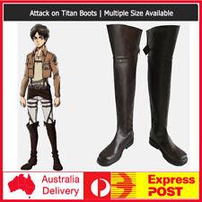 Shingeki no Kyojin Attack on Titan Eren Jäger Cosplay Costume Shoes Boots
