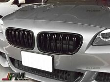 M5 Sport Style Gloss Black Front Grille For BMW 11-16 F10 5-Series Sedan/Wagon