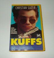 Kuffs VHS PAL Video Christian Slater
