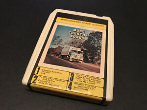 MORE COUNTRY ROADS VARIOUS ARTISTS AUSTRALIAN 8 TRACK TAPE CARTRIDGE