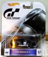 Hot Wheels Gran Turismo 2009 Nissan GT-R Black #5 Series Car 5/5 1/64 Scale