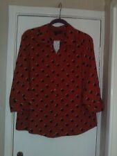 ladies oversized shirt from F&F size 14 NEW