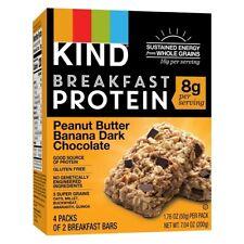 Kind Breakfast Protein Bars Peanut Butter Banana Dark Chocolate