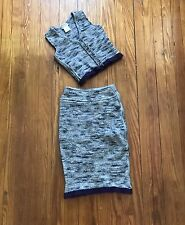 Chanel Identification 99A Wool Vest And Skirt Size 36