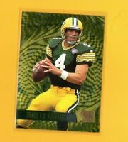 40813 BRETT FAVRE 1995 FLEER METAL GOLD BLASTER GREEN BAY PACKERS CARD #6