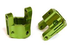 C26715GREEN Integy Billet Caster Block(2)for Axial 1/10 SCX-10 Off-Road Crawler