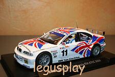 Slot car SCX Scalextric Fly 88209 BMW 320i E46 Valencia FIA ETCC 2004 Priaulx