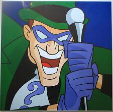 RIDDLER SQUARE FACE PRINT DC BATMAN Warner