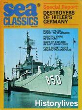 Sea Classics Magazine July 75, Hitler Vietnam FDR Ship