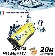 Camera Sport sous marine étanche Waterploof 20M 5 MoPixel Vidéo HD 1280x720P