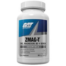 New GAT ZMAG-T, Zinc, Magnesium, B6 + Boron, 30 servings