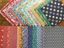 traditional Japanese craft, Origami paper/ Washi Chiyogami, 30 different design