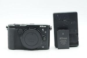 Nikon 1 V3 18.4MP Mirrorless Digital Camera Body Black #646