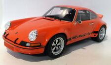 Véhicules miniatures orange en résine pour Porsche