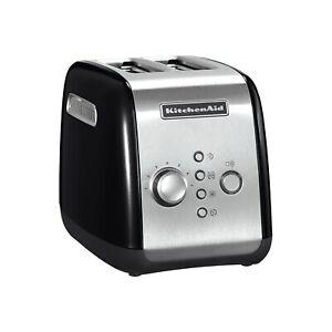 KitchenAid 5KMT221BOB 2 Slice Toaster - Onyx Black