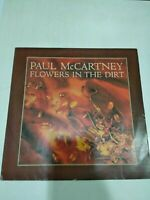 PAUL McCARTNEY FLOWERS IN THE DIRT RARE HMV LP RECORD vinyl INDIA INDIAN vg+
