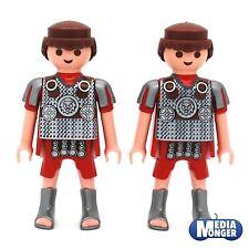 playmobil Romano Figura di base: 2x Legionario Centurio con argento Stivali