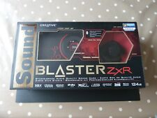 Creative SoundBlaster ZxR soundcard PCIE (PCI-Express) - used but good condition