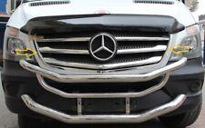 CROMO Paraurti Barra bordatura 2tlg per Mercedes Sprinter w906 2013-2018