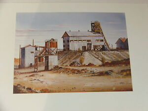John Dynon Australian Artist - John Dynon Colour Print