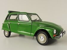Citroen Dyane 6 1975 Tuileries Green 1 18 Model 181621 Norev