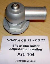 Honda CB72 CB 77 Cappellini #104 billet crankcase breather adjustable position