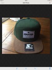 Starter Black Label - Green/Khaki Baseball Cap - ST BRA - (BNWT) OS - BNWT