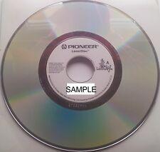 "Music Laserdisc PROMO "" LASERJUKE 132402 "" 90´s 80´s - BRIAN MAY QUEEN OSBOURNE"