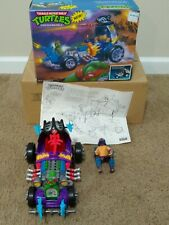 TMNT Shreddermobile - 1991 Playmates Toys - Action Figure - Ninja Turtles