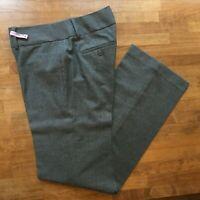 Ann Taylor LOFT Marisa Trouser Gray Dress Pants Stretch Womens Sz 2 EUC