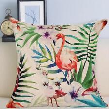 Linen Blend Tropical Decorative Cushions & Pillows