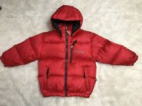 Bears USA Coat Boys Size large L Red Puffer Down Filled