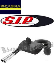 4545 - MARMITTA SIP ROAD 2.0 SPORT OPTIK SCHWARZ VESPA PX 200 COSA RALLY