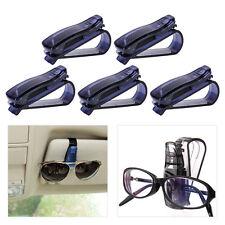 5stk Auto Fahrzeug Sonnenblende Clip Halter Sonnenbrille Brillen Halterung NEU
