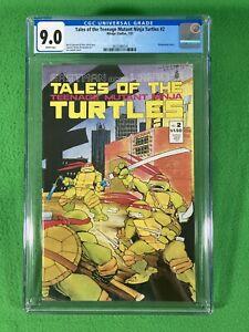 Tales Of The Teenage Mutant Ninja Turtles TMNT 2 - Mirage - CGC 9.0 White - 1987