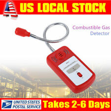 Combustible Natural Coal Gas Leak Detector Sniffer tool w/ Sound Light Alarm US!
