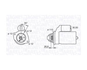 Magneti Marelli 943217148 Starter for Alfa Romeo, Fiat, Iveco Dailly (