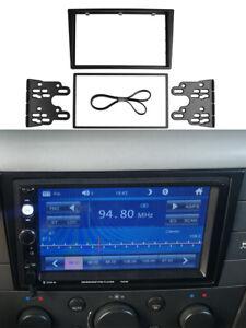 Car Radio Fascia Double 2 Din for Opel Corsa (C) Agila Astra (G) Frame Dash Kit