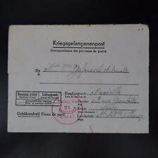 LETTRE PRISONNIER DE GUERRE STALAG V A -> MAXEVILLE KRIEGSGEFANGENENPOST POW
