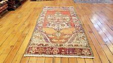 """Beautiful 1950-1960's Vintage 1'7"""" × 3'6"""" Natural Dye, Wool Pile Tribal Rug"""
