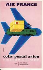 CARTE POSTALE / POSTCARD / AVIATION / ILLUSTRATEUR JEAN COLIN / AIR FRANCE