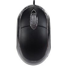 USB Mouse filo Ottico PC LED Luce Computer Giocare WINDOWS 2000 VISTA 7 8 10 cq