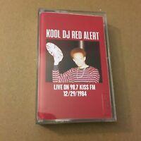 Kool DJ Red Alert Live on Kiss FM 98.7 12/29/84 RARE NYC CASSETTE MIXTAPE Tape