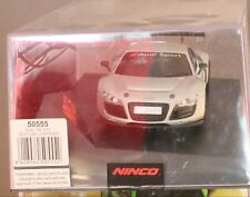 AUDI R8 GT3 TEST CAR DRAMATIC SILVER MB NINCO 50555 SLOT CAR see desc