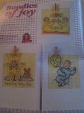 'Bundles Of Joy' Jenny Barton Cross Stitch Chart (only)