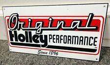 Holley Carburetor Sign .gas oil gasoline garage
