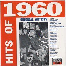 Hits Of 1960  ( CD MEP-6018 )